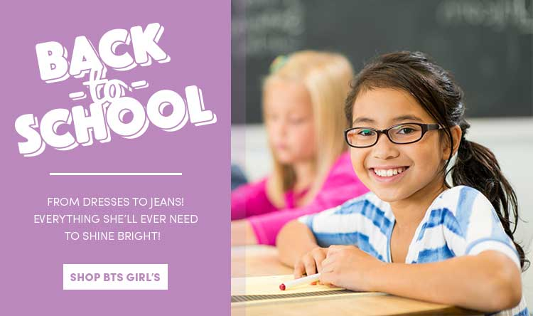 Save on Back to School for Girls