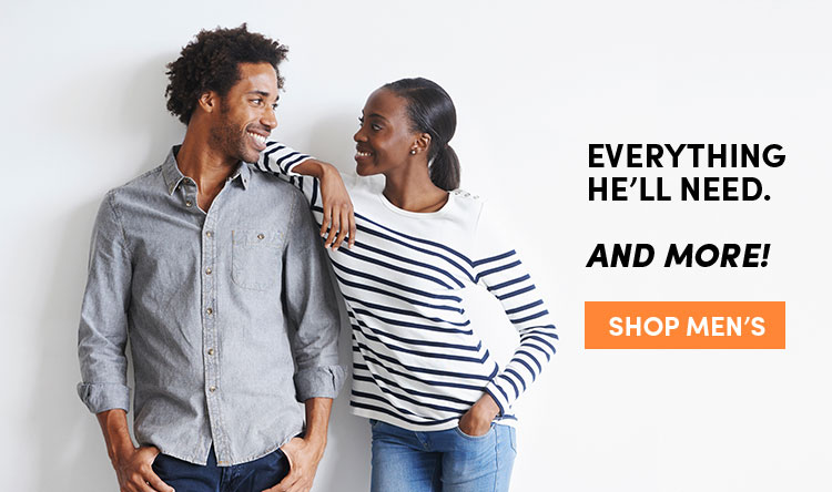 Shop Men's Clothing at Discounted Prices