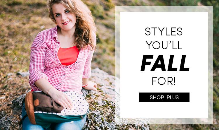 Save on Women's Plus Sized Fall Clothes