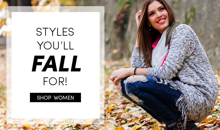 Save 40% on Women's Fall Clothes