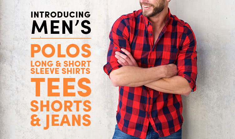 Men's clothes and shoes up 95% off retail