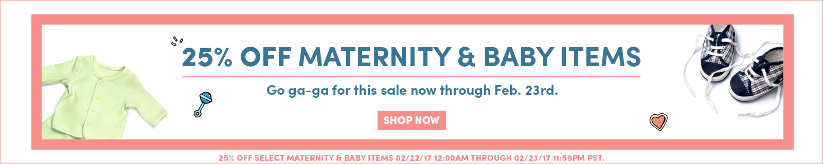 Maternity Sale 25 Off