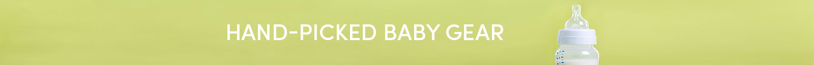 Baby Gear Department Banner