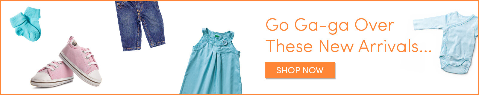 Shop New Arrivals in Cute Baby Clothes