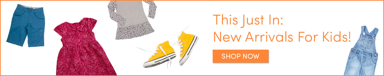 Shop New Arrivals in Cute Kids' Clothes