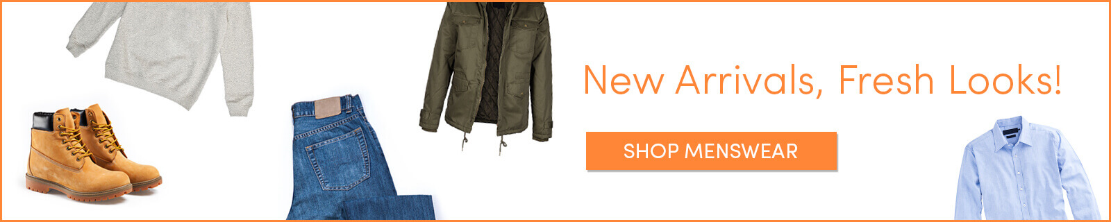 Shop New Arrivals in Top Men's Clothes